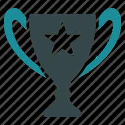 achievement, award, cup, gold, reward, trophy, winner icon