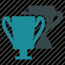 achievement, best, championship, cups, success, tournament, trophy icon