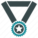 award, badge, best, medal, prize, star, winner icon