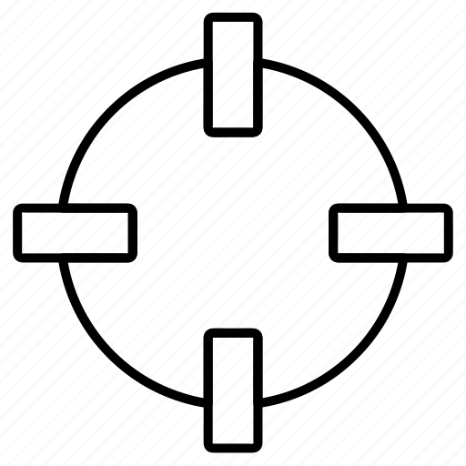 aim, business, crosshairs, goal, seo, target icon