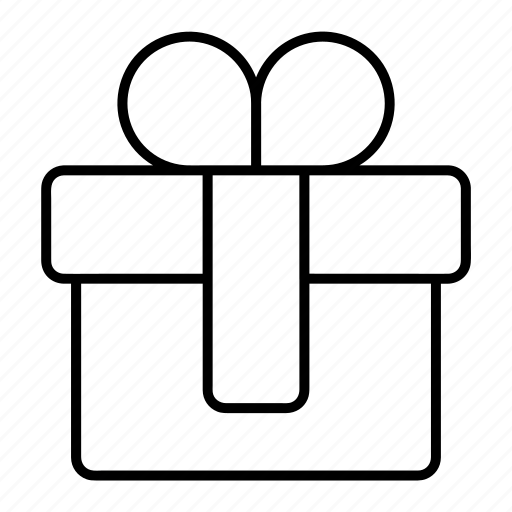 birthday, gift, package, present icon