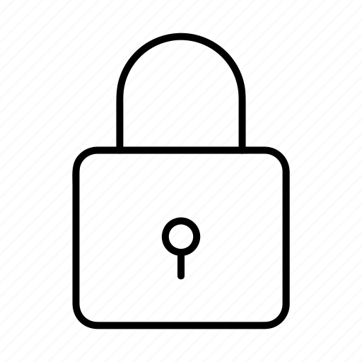 lock, locked, protection, safety, security icon