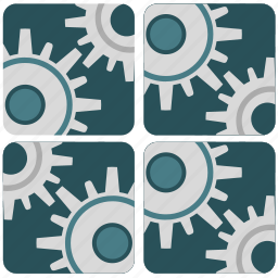 applications, control, engine, program icon