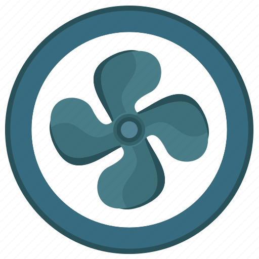 climate, conditioner, detail, part, round, spare icon