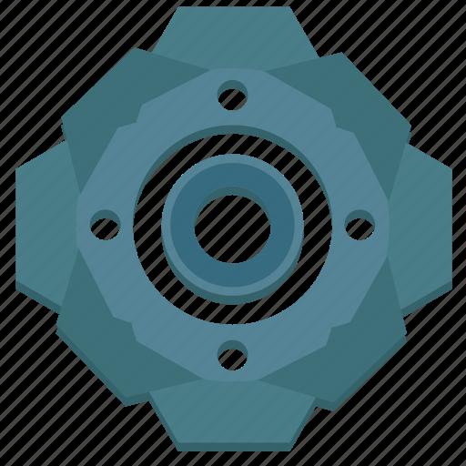 complex, engine, gear, mechanism, part, spare icon