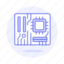 board, chip, chipset, computer, cpu, microchip, mother, processor icon