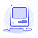 computer, old, pc, vintage, retro