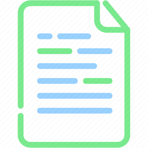 document, file, office, paper icon