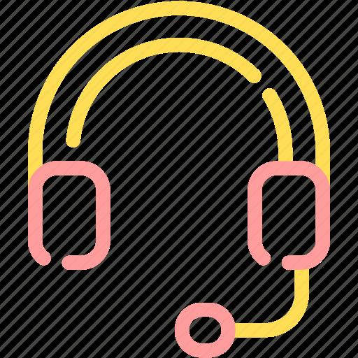 audio, customer service, headphone, headset, music icon