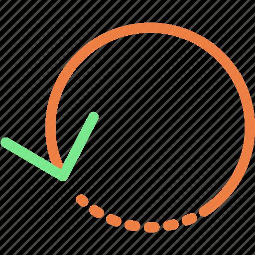 arrow, list, new, refresh icon
