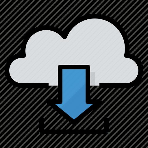 data, download, storage, transfer icon