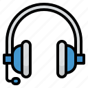 audio, earphones, headphones, sound, technology icon