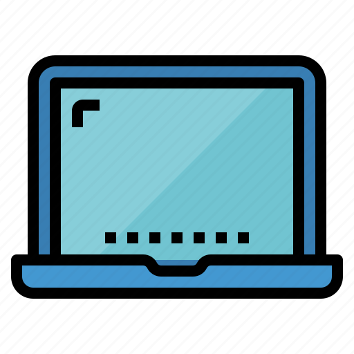 computer, computing, laptop, technology icon