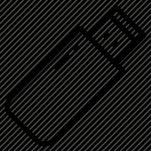 drive, flash, memory, thumb, usb icon