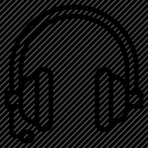 audio, earphones, headphones, sound, technology icon