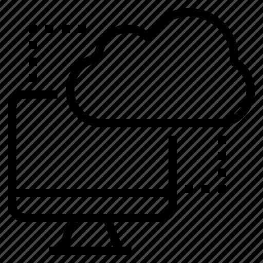hosting, online, server, storage icon
