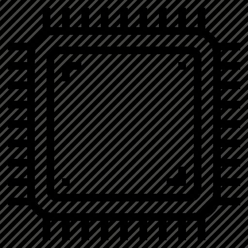 chip, cpu, ic, processor icon