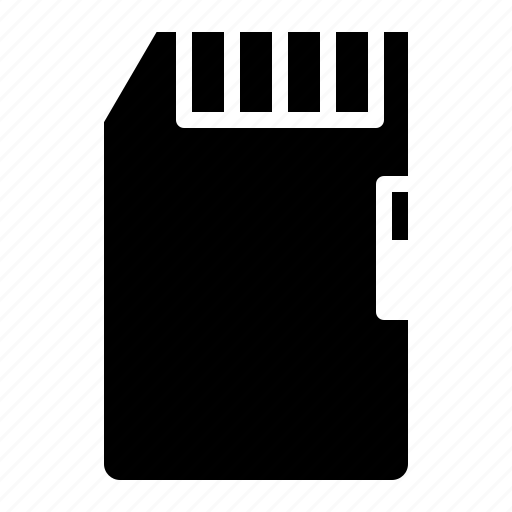 card, memory, sd, storage icon