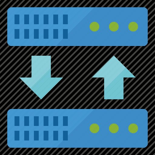backup, data, database, server, storage icon