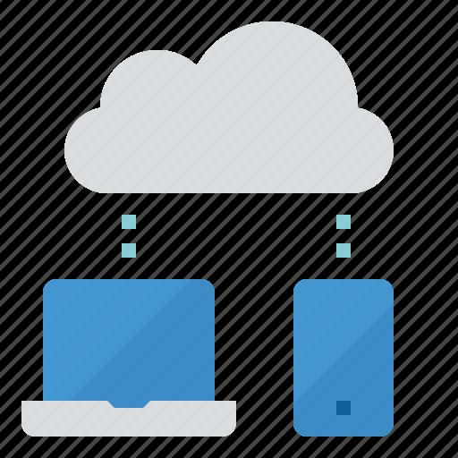 cloud, computer, network, storage icon
