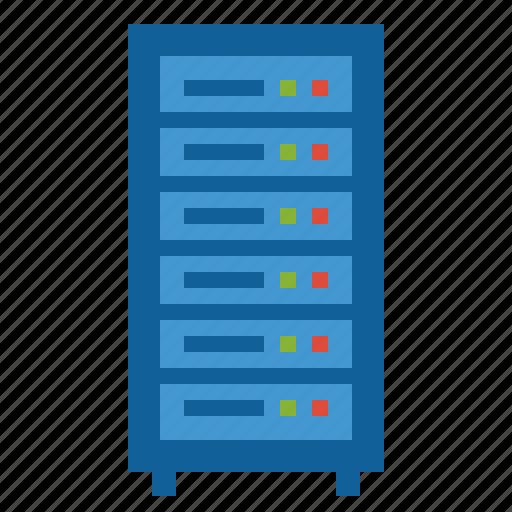 computer, mainframe, server, web icon