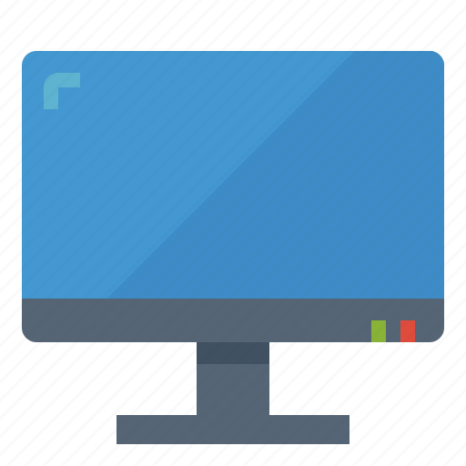 computer, monitor, screen, technology, tv icon