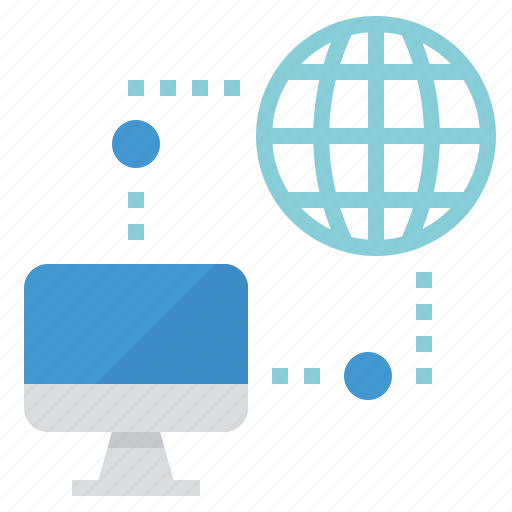 connection, internet, network, online icon