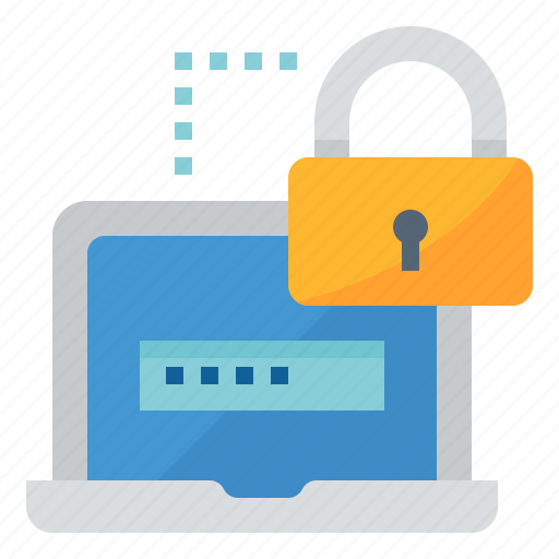 authorise, password, protect, security icon