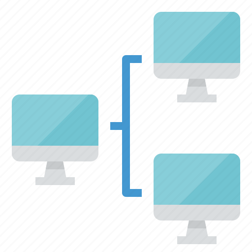 data, link, network, share icon