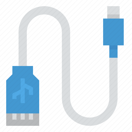adapter, connection, technology, usb icon