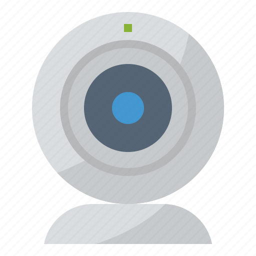 camera, streaming, technology, webcam icon