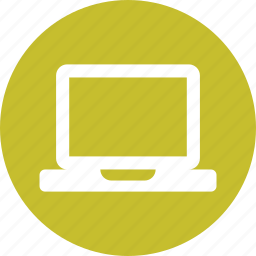computer, laptop, monitor, notebook, office, screen, technology icon