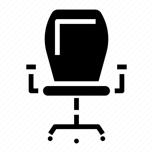 accessory, chair, computer, sit, work icon