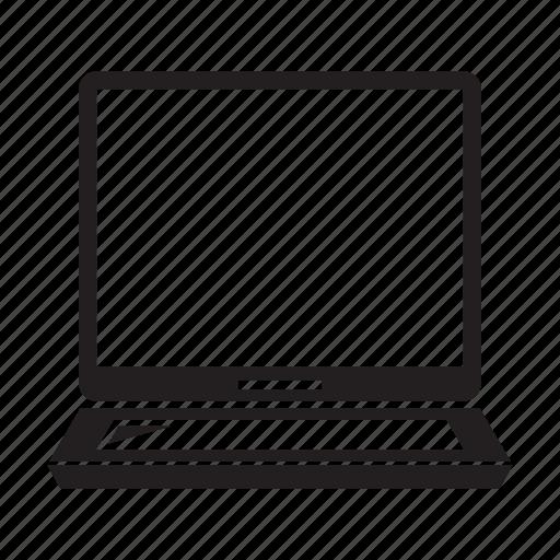 computer, electronic, laptop, screen icon