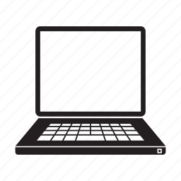 computer, electronic, keyboard, laptop, screen icon