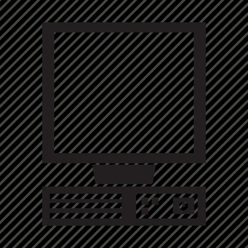 computer, desktop, electronic, pc, screen icon