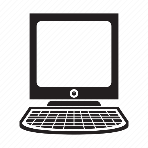computer, desktop, electronic, keyboard icon