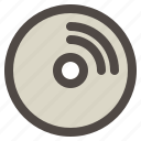 cd, compact, computer, disc, dvd, hardware icon