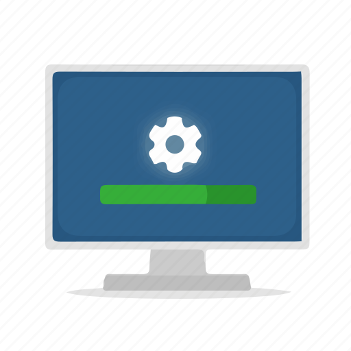 Computer, configuration, display, install, installation, setup icon - Download on Iconfinder
