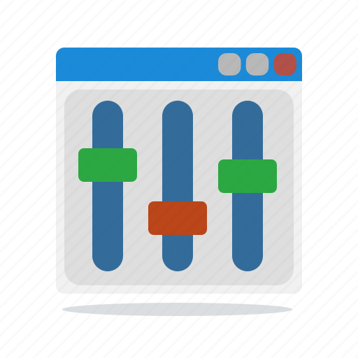 configuration, options, settings, setup icon
