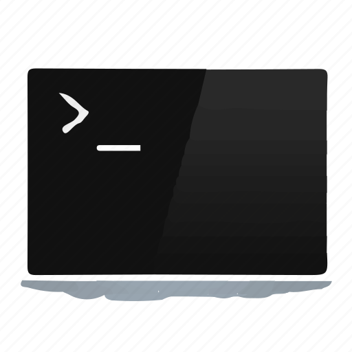 Cmd, shell, console, command line icon
