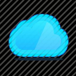 cloud, computer, dropbox, storage icon