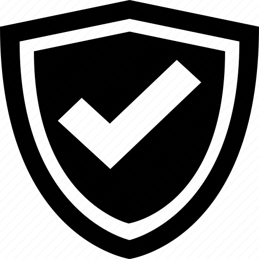 antivirus, firewall, protected, safe, secure, shield icon