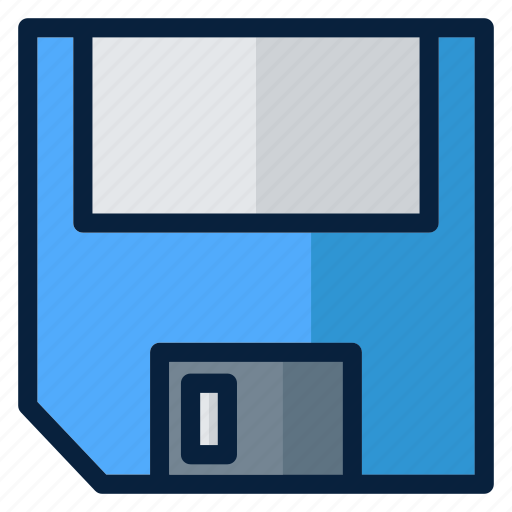 computer, disk, electronic, floppy, technology, web icon