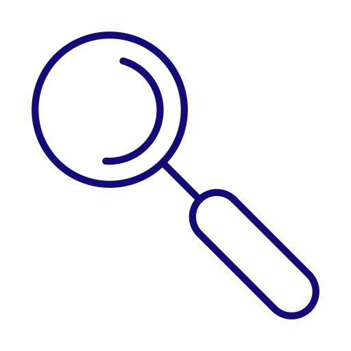 find, loupe, magnifier, magnifying glass, search, seo icon