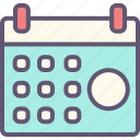 calendar, computer, connection, internet, network, website icon