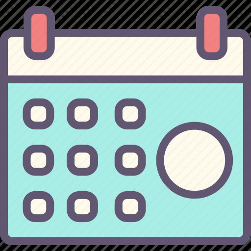 calendar, computer, connection, internet, network, website icon