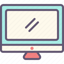 computer, connection, internet, network, screen, website icon