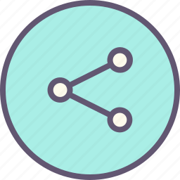 computer, connection, internet, network, share, website icon