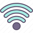 computer, connection, internet, network, website, wifi icon